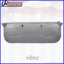1999 2000 2001 Ford F450 Work Truck Bench Bottom Vinyl Seat Cover Graphite Gray