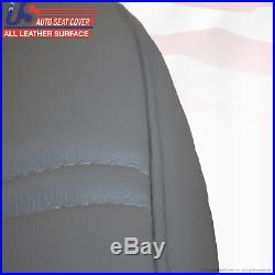 1999 2000 Ford F450 F550 XL Bench Lean Back Vinyl Replacement Cover Med Gray