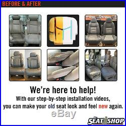 1999-2002 Ford F250, F350 Super Duty XL Work Truck Bench Bottom Vinyl Seat Cover