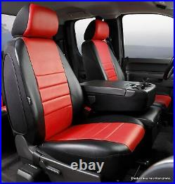 1999-2002 Silverado Sierra Factory Fit Custom Front Bench Seat Cover Leather Red