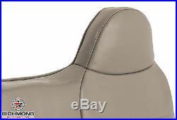 1999 Ford F250 F350 F450 F550 XL Work Truck-Lean Back Bench Seat Vinyl Cover Tan