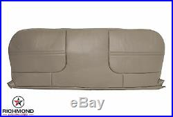 1999 Ford F250 F350 XL 4x4 Diesel Utility Bed -Bottom Vinyl Bench Seat Cover Tan