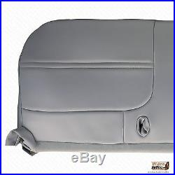 1999 Ford F250 XL Work Truck -Bottom Replacement Vinyl Bench Seat Cover Gray