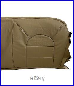 1999 Ford F350 Lariat Super Duty Bench Bottom Leather Seat cover Prairie Tan