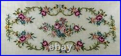 1 Vintage Pre-worked Canvas Tapestry (bench Seat Cover) (#3119)