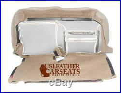 2000 2001 Ford Excursion Limited Second Row Bench Bottom Leather Seat Cover Tan