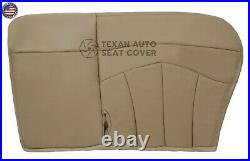 2000, 2001 Ford F150 Lariat 2WD Passenger Bench Leather Seat Cover Tan 60/40