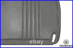 2000 Chevy Silverado C/K Work-Truck Base WithT -Bottom Bench Seat Vinyl Cover Gray