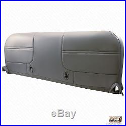 2000 Ford F250 F350 XL Work Truck Bottom Replacment Vinyl Bench Seat Cover Gray