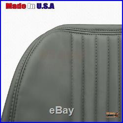 2000 GMC Sierra C/K 2500 3500 Classic WT Base Bench Bottom Vinyl Seat Cover Gray
