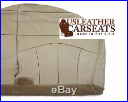 2001 2002 2003 Ford F150 Passenger Bench Bottom Seat Cover Medium Parchment Tan