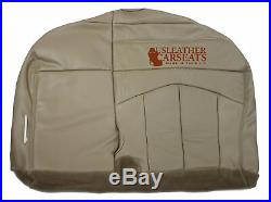 2001 2002 2003 Ford F150 Passenger Replacement Bench Bottom Seat Cover Tan
