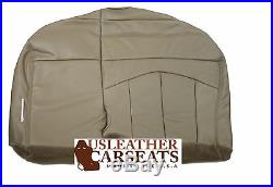 2001-2003 Ford F150 Lariat Passenger Replacement Bench Bottom Seat Cover Tan