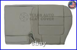 2001 Ford F150 Lariat 2WD Super Crew Passenger Bench Leatherette Seat Cover Gray