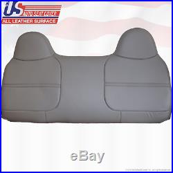 2001 Ford F250 F350 F450 F550 XL Bench Lean Back Vinyl Replacement Cover Gray