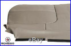 2001 Ford F250 F350 F450 F550 XL Work Truck -Bottom Bench Seat Vinyl Cover Tan