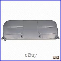 2001 Ford F250 F350 XL Work Truck Bottom Replacment Vinyl Bench Seat Cover Gray
