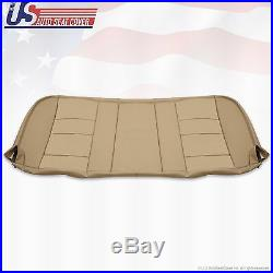 2002 2003 Ford F250 F350 Lariat Rear Bench Bottom Replacement Leather Cover Tan