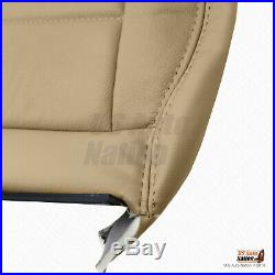 2002 2007 Ford F250 F350 F450 F550 Rear 60/40 Bottom Bench Leather Cover TAN