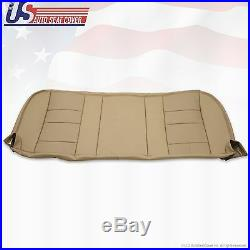 2002 2007 Ford F-250 F250 Lariat Rear Bottom Leather Bench Seat Cover TAN