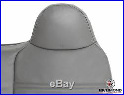2002 Ford F450 F550 XL -Front Bench Seat Replacement Vinyl LEAN BACK Cover Gray