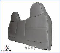 2002 Ford F450 F550 XL Work Truck -Front Bench Seat Lean Back Vinyl Cover Gray