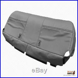 2003 2004 2005 2006 2007 Ford F250 XL Bottom Bench Vinyl Seat Cover Gray