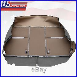 2003 2004 2005 Ford F250 XL Bottom Lower Bench Seat Replacement Vinyl Cover Gray