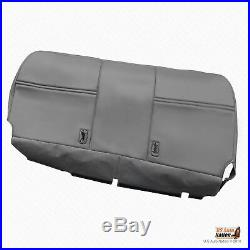 2003 2004 Ford F250 F350 XL Bottom Bench Replacement Vinyl Seat Cover Gray