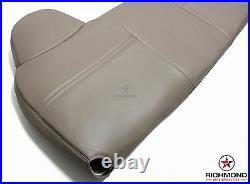 2003 2004 Ford F250 F350 XL -Lean Back Bench Seat Replacement Vinyl Cover Tan