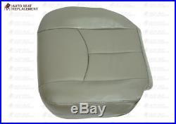 2003-2006 GMC Yukon Sierra Second Row 60/40 Bench Bottom Seat Cover Light Gray