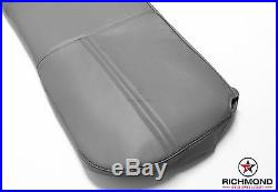 2003-2007 Ford F250 F350 F450 XL -Bottom Bench Seat Replacement Vinyl Cover Gray