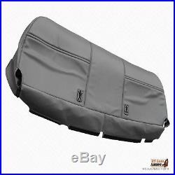 2003 2007 Ford F250 F350 XL Bench Bottom Gray Synthetic Leather Seat Cover