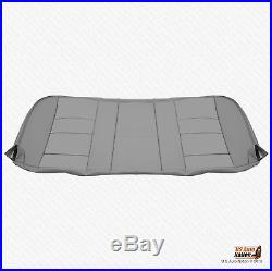 2003 Ford F250 F350 Lariat Rear Bench Bottom Replacement Seat Cover Color Gray