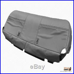 2005 2006 Ford F450 F550 XL Bench Bottom Replacement Gray Vinyl Seat Cover