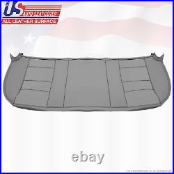 2006 2007 Ford F250 F350 Lariat Rear Bench Bottom Leather Seat Cover Color Gray