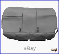2006 2007 Ford F450 F550 XL Bench Bottom Gray Vinyl Replacement Seat Cover