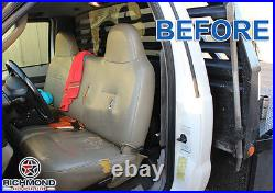 2006 Ford F250 F350 F450 F550 XL -Bottom Bench Seat Replacement Vinyl Cover Tan