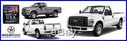 2008-2010 Ford F250 F350 F450 XL Work Truck -Bottom Bench Seat Vinyl Cover Tan