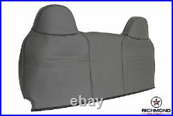 2008-2010 Ford F250 F350 XL -Lean Back Bench Seat Replacement Vinyl Cover Gray