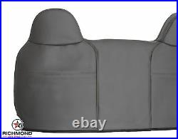 2008-2010 Ford F250 F350 XL Work Truck -Lean Back Bench Seat Vinyl Cover Gray