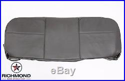 2008 Ford F250 F350 F450 F550 XL -Bottom Bench Seat Replacement Vinyl Cover Gray