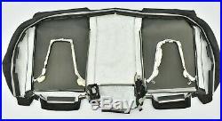2009-2012 Audi A4 B8 Rear Lower Bottom Seat Cushion Cover Black Oem #1