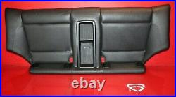 2009-2013 BMW 128i COUPE E82 OEM REAR LOWER BENCH CHAIR PANEL SEAT BLACK LEATHER