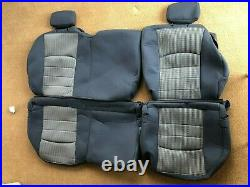 2009 Ram 1500 Quad cab SLT/ OEM Factory seat cover set / buckets with rear bench