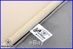 2010 Ford F250 F350 F450 F550 XL -Bottom Bench Seat Replacement Vinyl Cover Gray