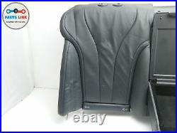 2014-2017 Mercedes S550 W222 Rear Row Bench Seat Back Upper Arm Rest Cover Pad