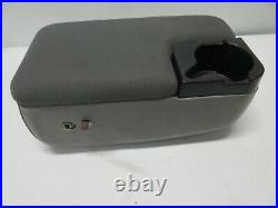 2 Bolt Ford Ranger Mazda B Series Center Console Arm Rest Cup Holder Gray