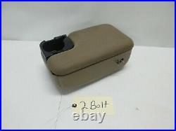 2 Bolt Ford Ranger Mazda B Series Center Console Arm Rest Cup Holder Tan