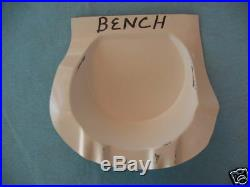 61 63 64 Pontiac Gearshift Control Lever Cover Housing (shift Porch) Bench Seat